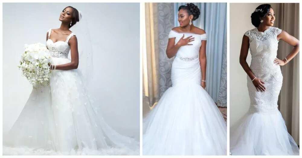 7309995c6a83b Latest wedding gowns in Nigeria 2017-2018 ▷ Legit.ng