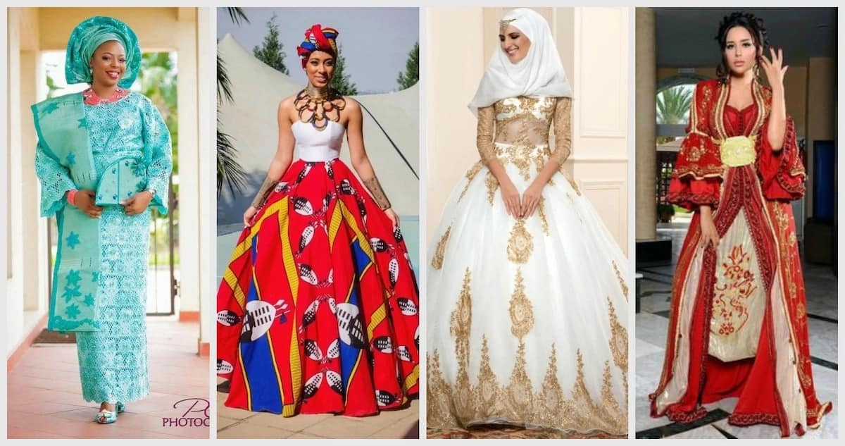 55ac215d873 Traditional wedding dresses by country in Africa ▷ Legit.ng