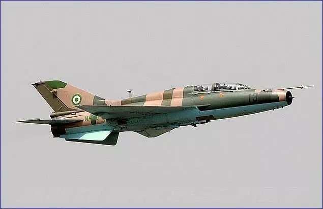 Jirgin yakin hukumar soji MI-35M ya yi ruwan nakiyoyi a kan motocin 'yan Boko Haram