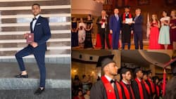 Nigerian man becomes best graduating student from Russian medical school (photos)