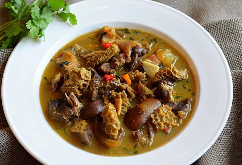 Nigerian food menu for losing weight