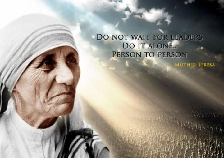 Mother Teresa quotes on life, love and family ▷ Legit.ng