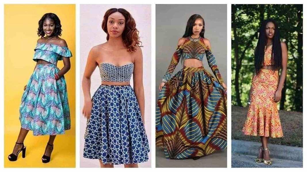 Ankara tops and skirts