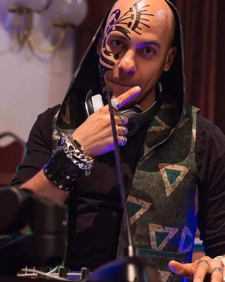 DJ Sose and his famous tattoo