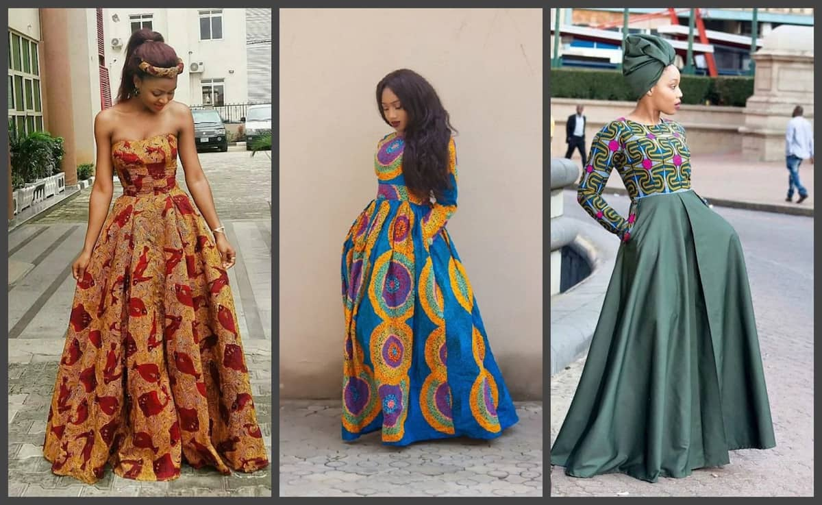 Latest Ankara Long Gown Styles 2017