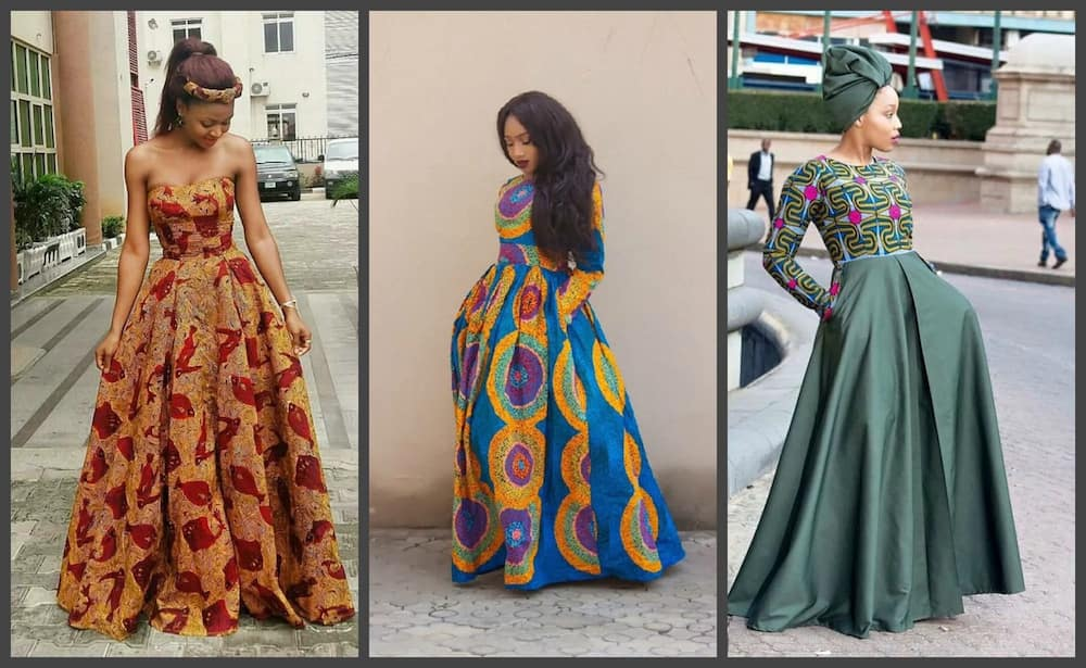 Latest Ankara Long Gown Styles 2018 2019 Updated Legit Ng