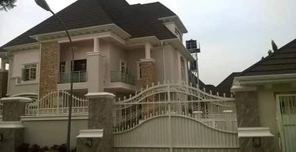 Mikel Obi house in Abuja