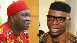 Ekweremadu, Mimiko bicker over former Ondo governor's defection to Labour Party