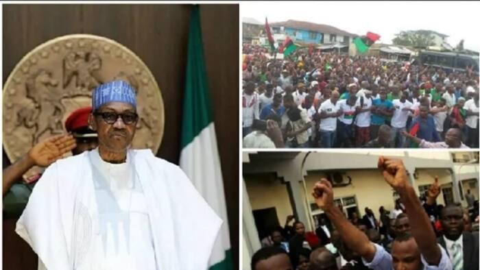 Presidency gets terrible surprise from Yoruba nation agitators, IPOB, takes drastic decision