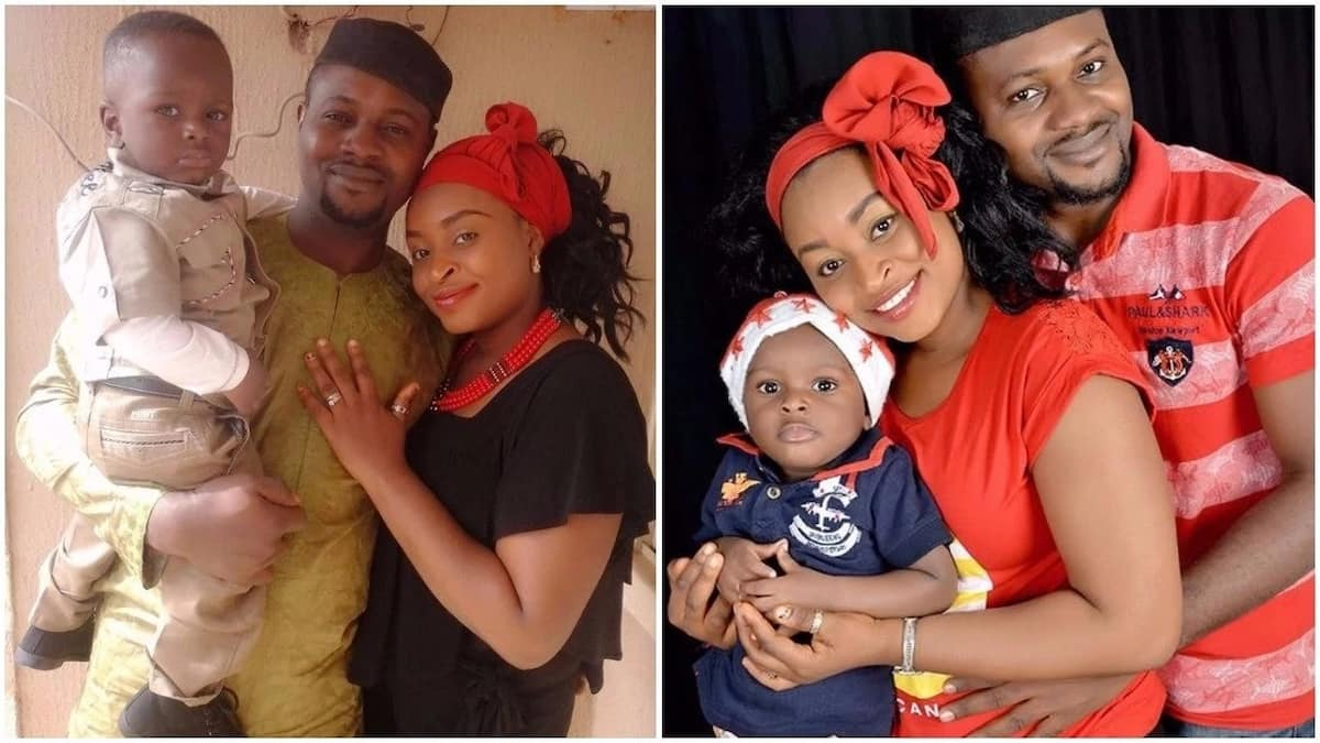 1ddaf0baf40 Nigerian lady shares love story as she celebrates 1st wedding anniversary  with husband Photo Source  Facebook