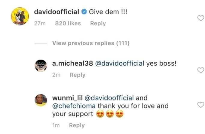 Cee-C bags first endorsement deal, Davido Reacts