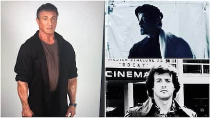 Rambo! 4 photos that bring back good memories about actor Sylvester Stallone