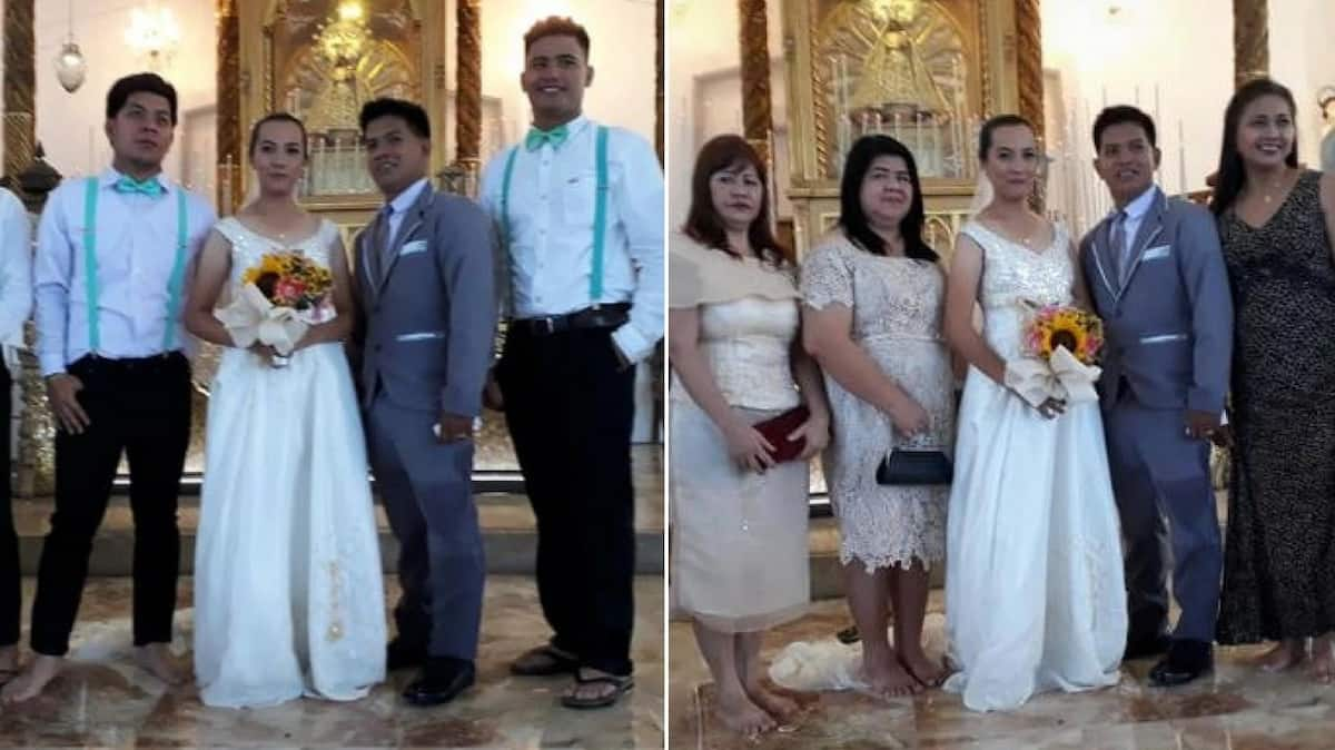 Knee-deep in love: Filipino couple gets married in the murky waters of a flooded church (photos, video)