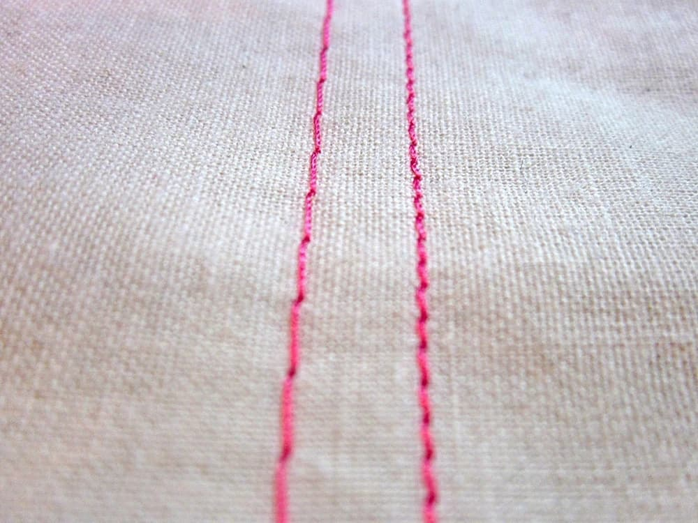 Types of stitches and their uses