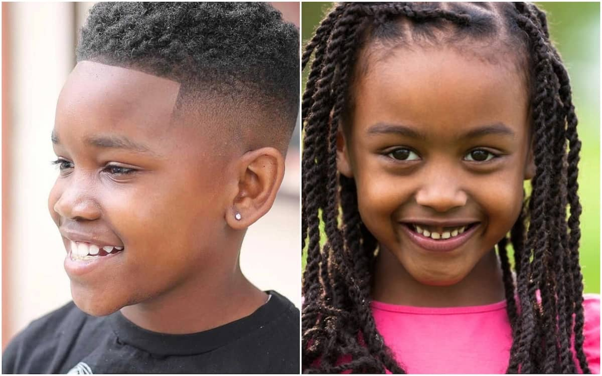 Kids hairstyles for boys and girls in Nigeria ▷ Legit.ng