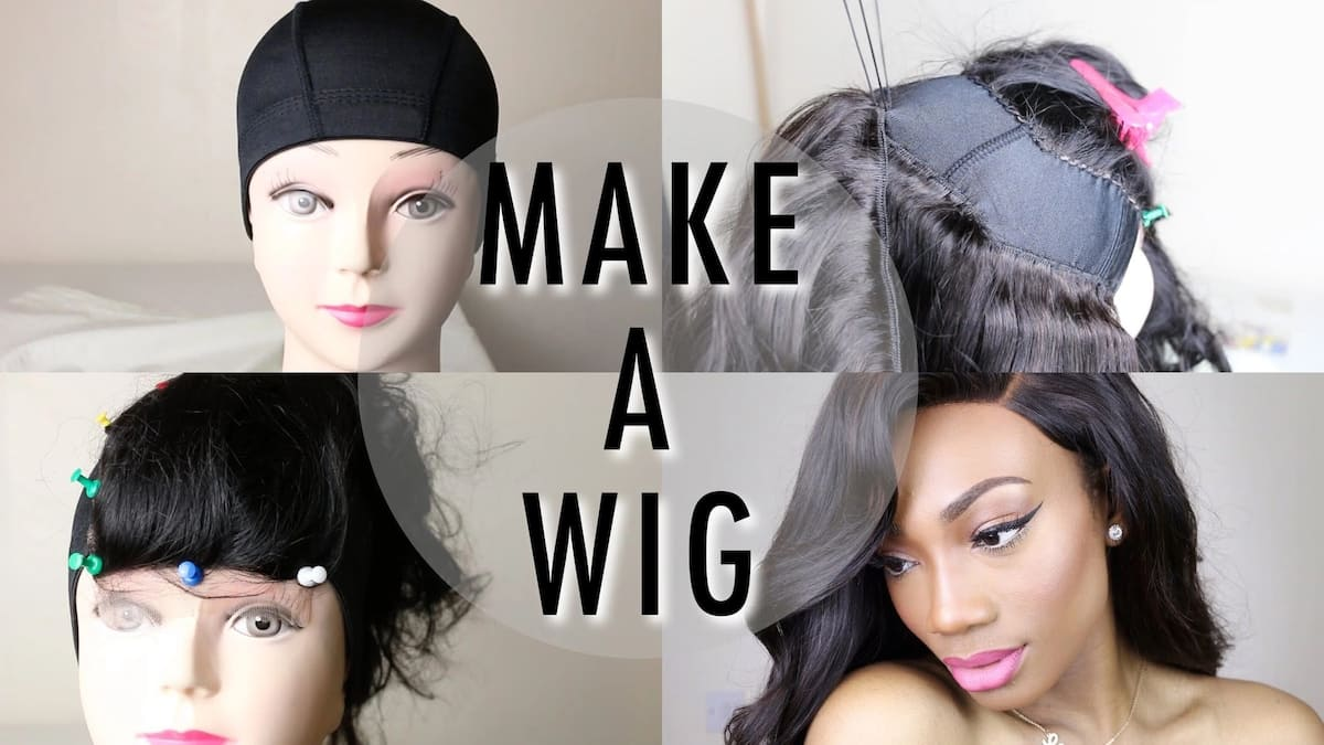 How to make lace wig from scratch