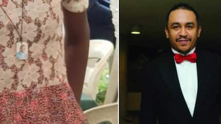 This is not Christianity - Daddy Freeze condemns necklace with Pastor Adeboye's photo