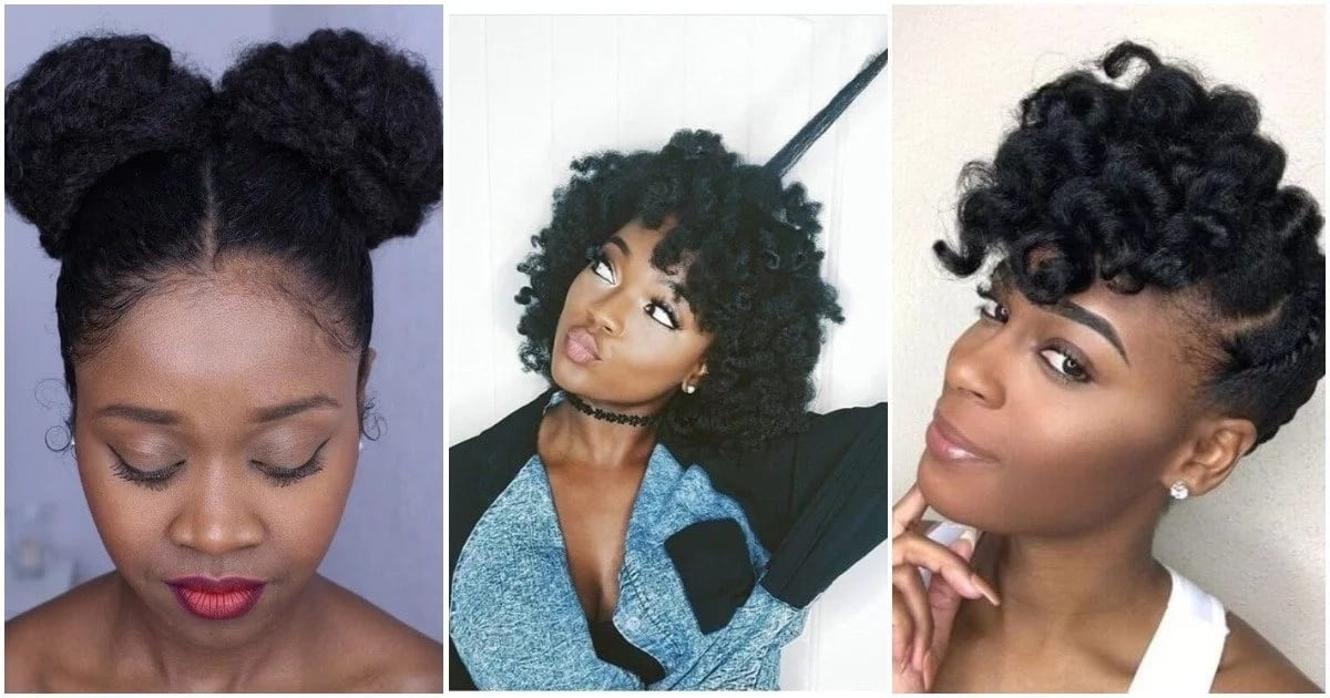 Protective hairstyles for short natural hair ▷ Legit.ng
