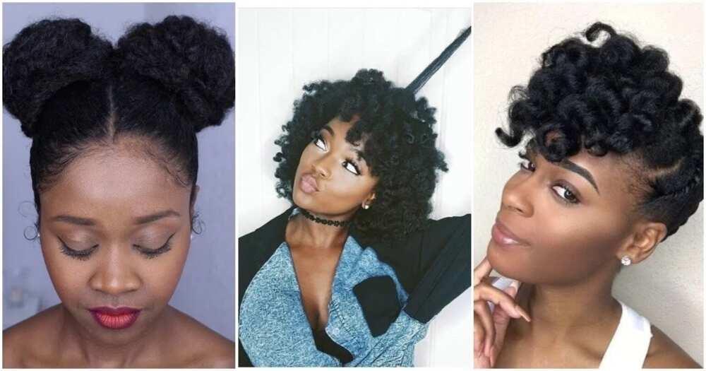 Protective hairstyles for short natural hair ▷ Legit.ng