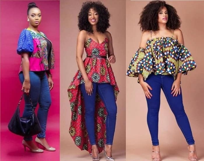 Be in trend with Ankara tops and jackets