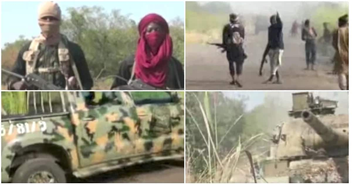 Boko Haram releases new video, displays tanks seized from soldiers