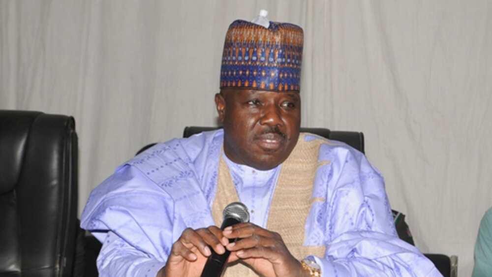 Ali Modu Sheriff visits APC national secretariat
