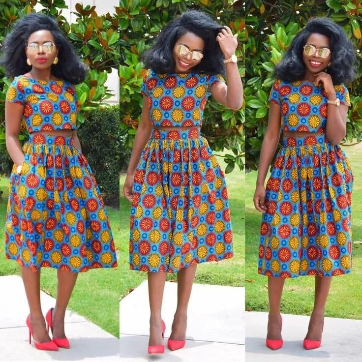 a3bc50535e7859 Latest ankara tops and skirts ▷ Legit.ng