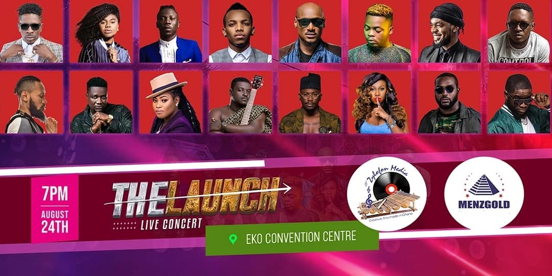 Menzgold & Zylofon Media opens in Nigeria with a massive concert