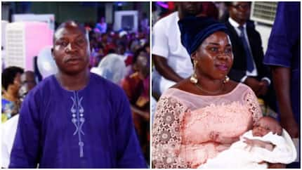 After prayers at TB Joshua's church, woman childless for 17 years gives birth to first child (photos)