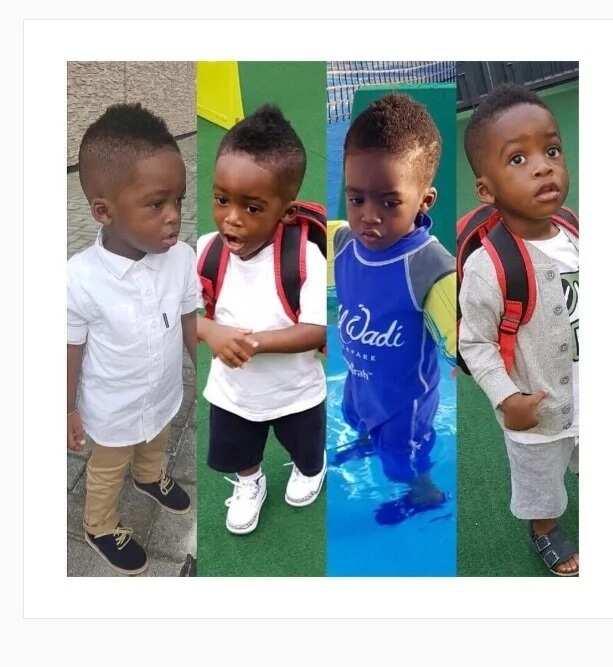 Tiwa Savage son pictures