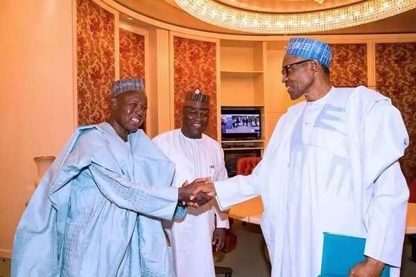 Masari ya bukaci masu kula da kudade na ma'aikatu dasu goyawa Buhari baya wurin yakar rashawa