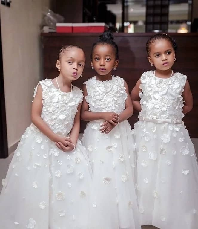 Little Bride Dresses Made From Soft Fabrics