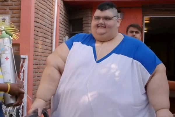 Fattest man in the world Juan Pedro Franco