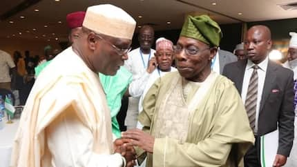 2019: Yoruba group commends Obasanjo for forgiving Atiku, rallies support for ex-VP
