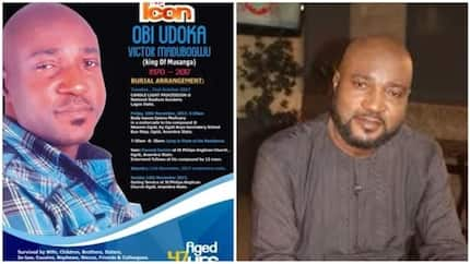 Emotional photos from the burial of Nollywood actor, Obi Madubogwu