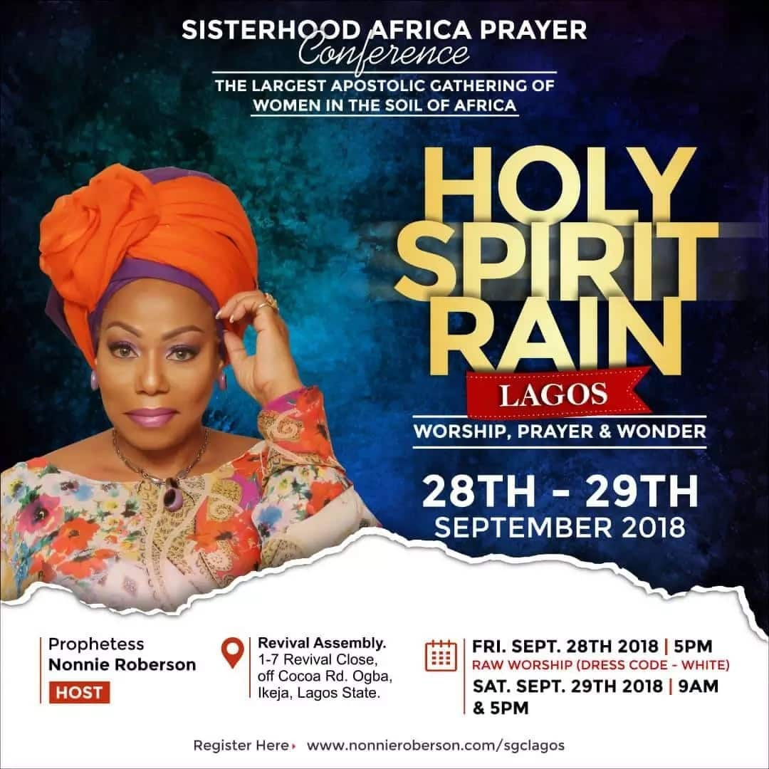 Why we are gathering global women in Lagos - Prophetess Nonnie
