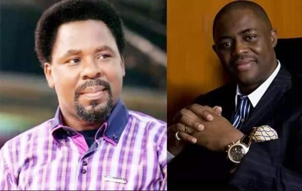 Fani-Kayode says he won't allow Prophet TB Joshua move his ministry to Israel