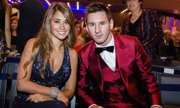 Lionel Messi wife story
