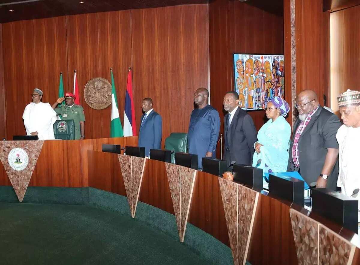 Da duminsa: Shugaba Muhammadu Buhari ya jagoranci taron FEC a yau
