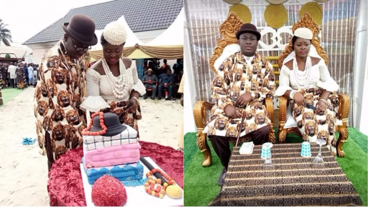 Senator Sekibo daughter Oraye and sweetheart Source: Facebook, Chigor