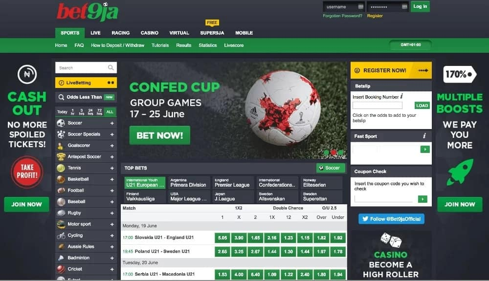How to book a bet on bet9ja bitcoins kaufen bargeldverbot