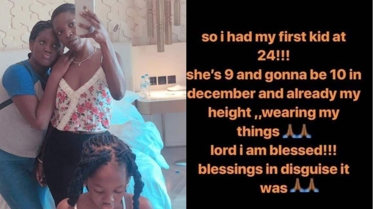 I had my first child when I was just 24 — Annie Idibia
