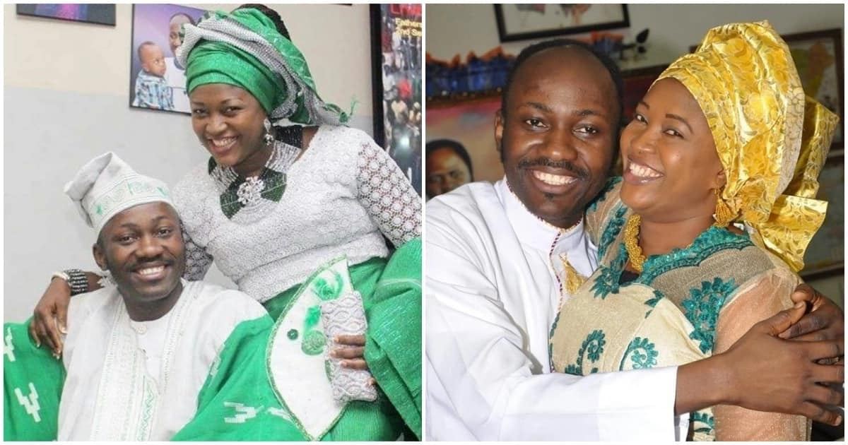 Apostle Johnson Suleman celebrates 14th wedding anniversary with throwback photos