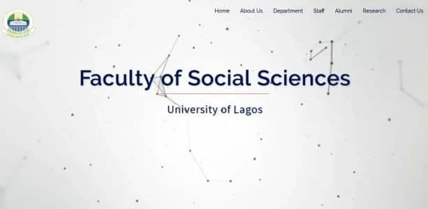 University of Lagos Faculty of Social Sciences