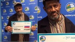 Lucky! 68-year-old man wins lottery, becomes a billionaire with old ticket close to expiry (photos)