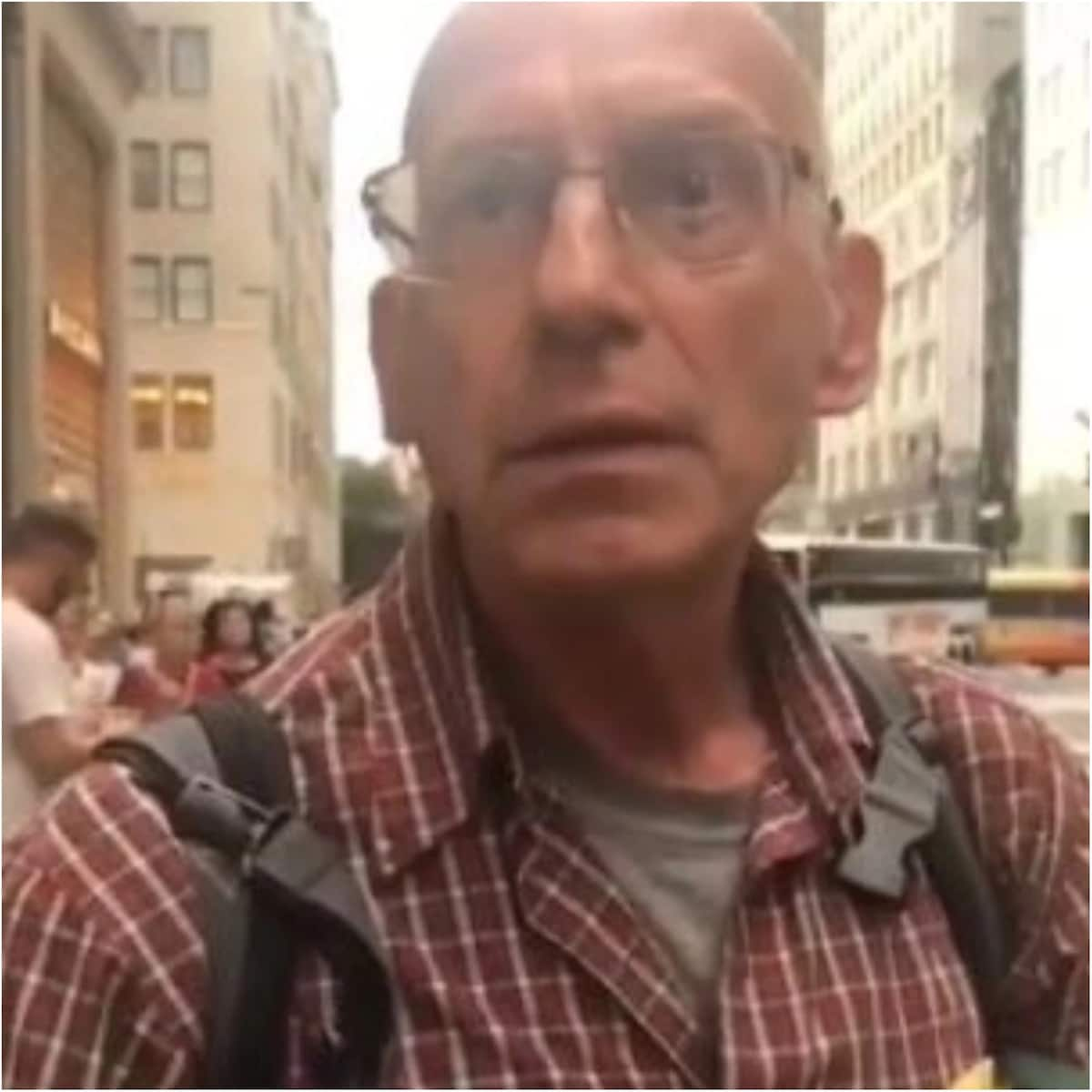 American man shares his candid opinion about Nigeria as he advises citizens