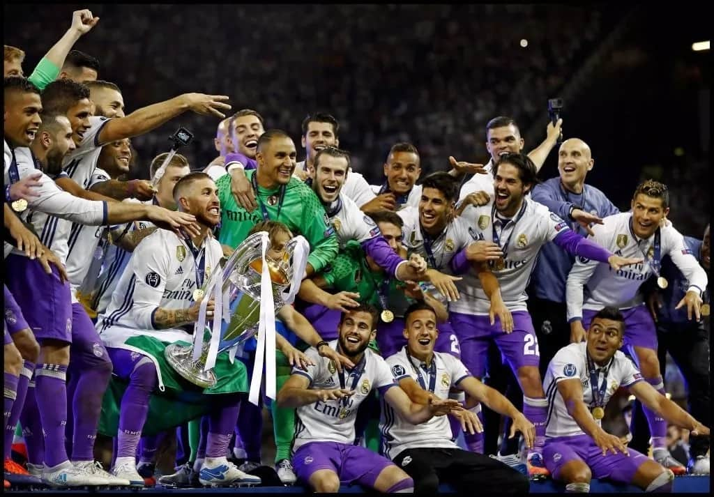 How many times has Real Madrid won the Champions League?