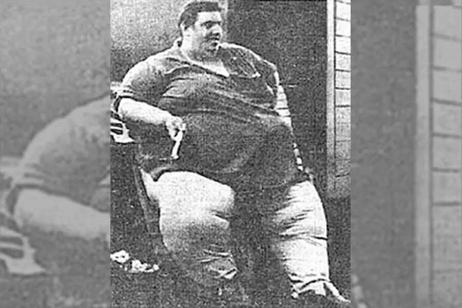Fattest man in the world in medical history Jon Brower Minnoch