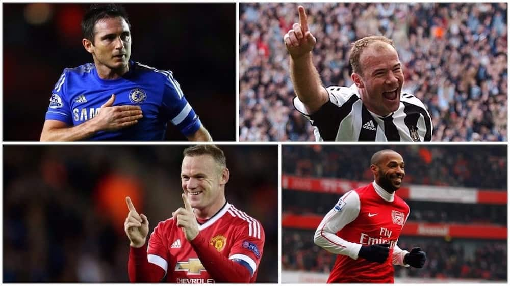 Checkout the top 10 all-time English Premier League top-scorers