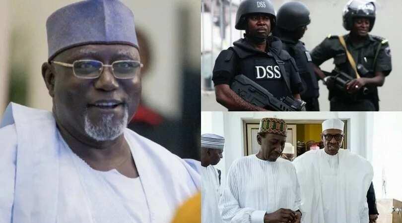 Ta tabbata Buhari ba zai mayar da Lawan Daura shugabancin hukumar DSS ba